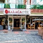 Eingang Karaca Hotel in Izmir